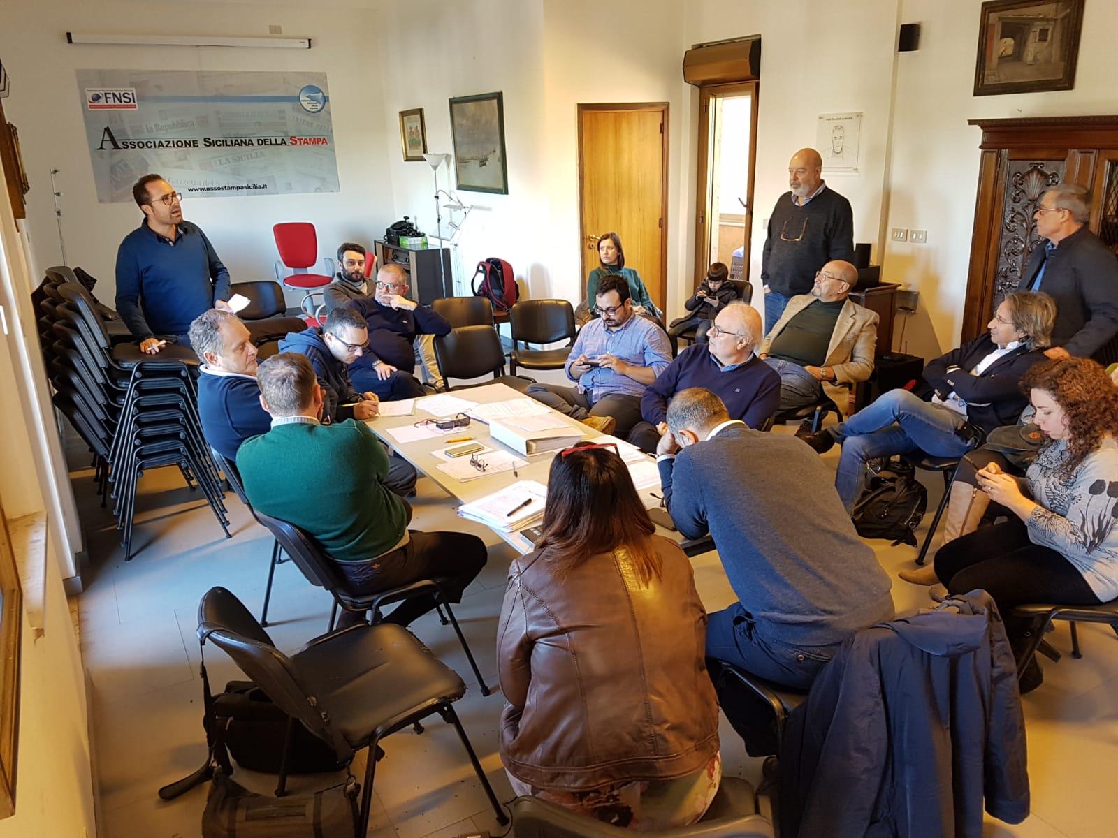 Giornalismo, Assostampa Palermo apre vertenza a difesa professione