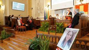Messina, consegnata pergamena di laurea in medicina in memoria di Lorena Quaranta