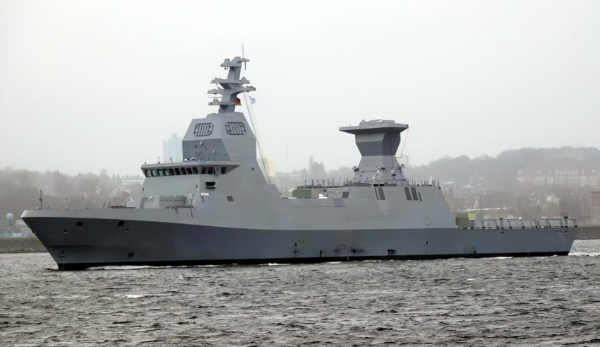 Cannoni italiani per le nuove corvette d'Israele
