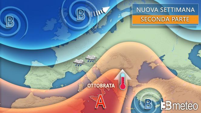 3B Meteo: in arrivo sole e clima mite per il periodo al Centro Sud