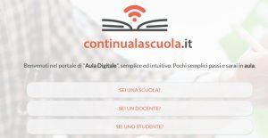 Continua la scuola Regione siciliana