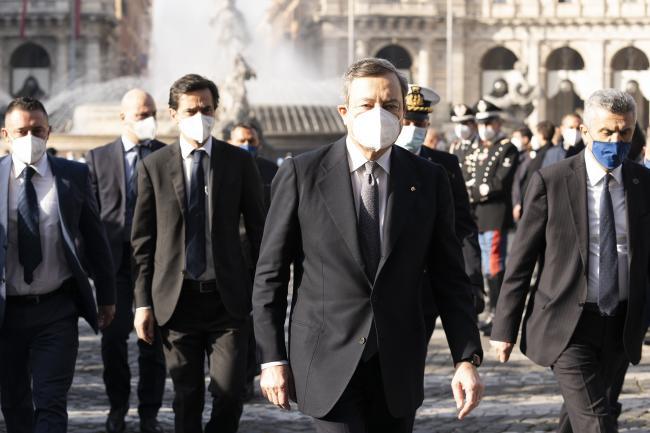 mario Draghi Covid