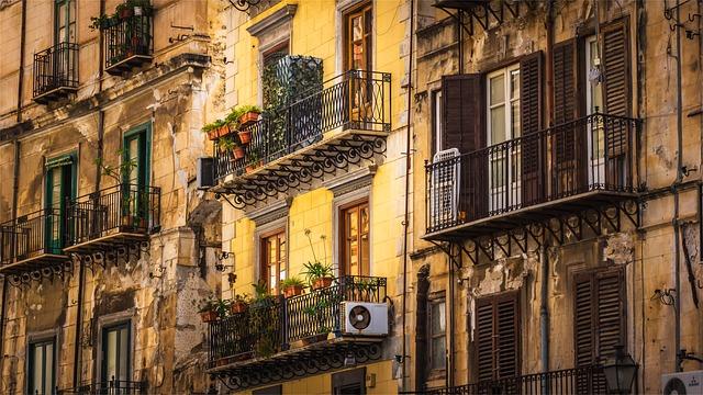 Palermo paesaggio architettura
