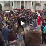 manifestazioni anti covid