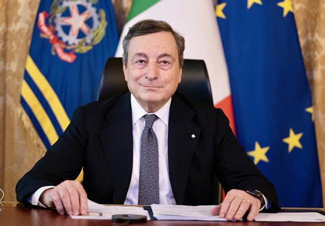 Covid mario Draghi