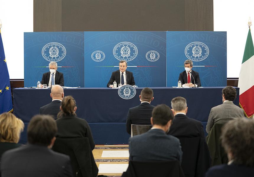 Decreto sostegni 2021 Conferenza stampa