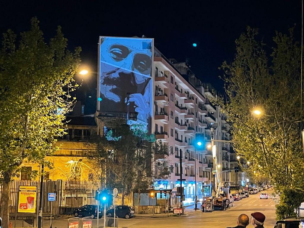 Murale Falcone Capaci