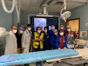 Ingrassia Palermo, innovativo intervento di Cardiologia su 51enne
