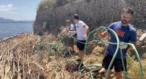 Will chiude la tappa di Palermo con la pulizia del fiume Oreto
