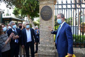 Palermo, riaperti dopo quattro anni i Giardini del Palazzo Orleans