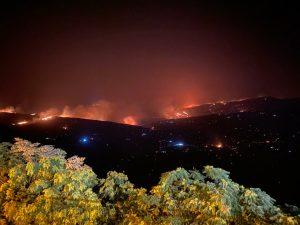 Incendi, dalle Isole Eolie a Ganci: inizia la conta dei danni