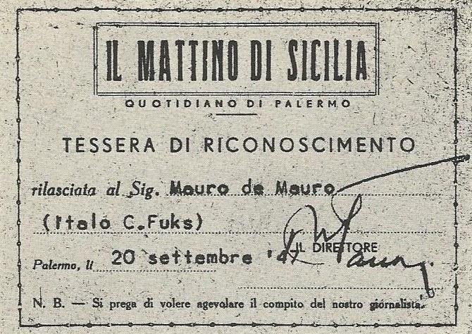 Mauro De Mauro
